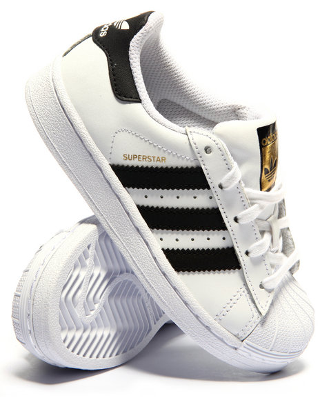 Adidas Boys Superstar C Sneakers (113) White 12 Youth