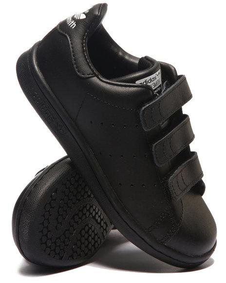 Adidas - Boys White Stan Smith C M F - C Sneakers (11-3)