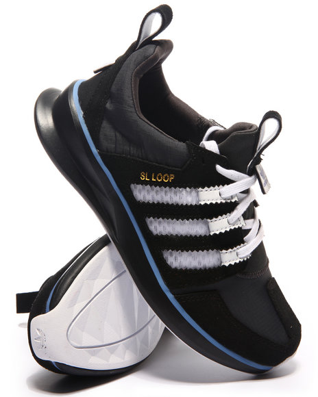 Adidas - Boys Grey Adidas Loop Runner J Sneakers (3.5-7)
