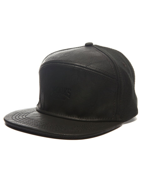 Crooks & Castles Men Core Logo Strapback Black