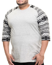 Big & Tall - Elmira 3/4 Raglan Tee (B&T)