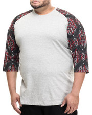 Big & Tall - Goshen 3/4 Raglan s/s tee (B&T)