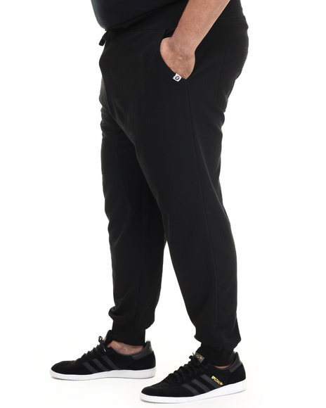 Akademiks - Men Black Flatland French Terry Jogger Pants - $36.00