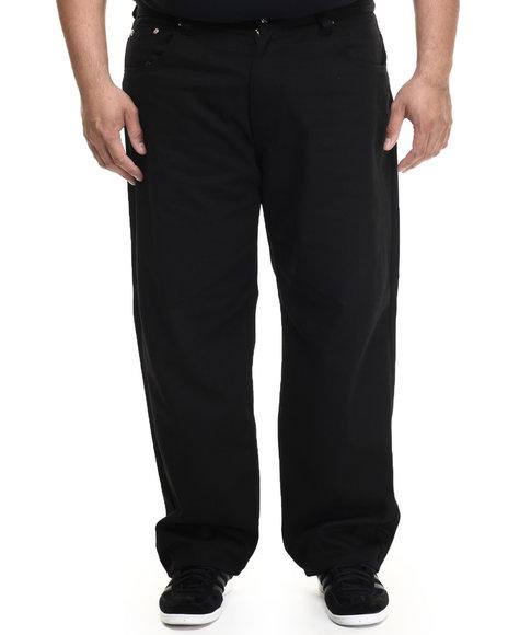 Akademiks - Men Black Culture 5 Pocket Twill Pants (B&T) - $46.00