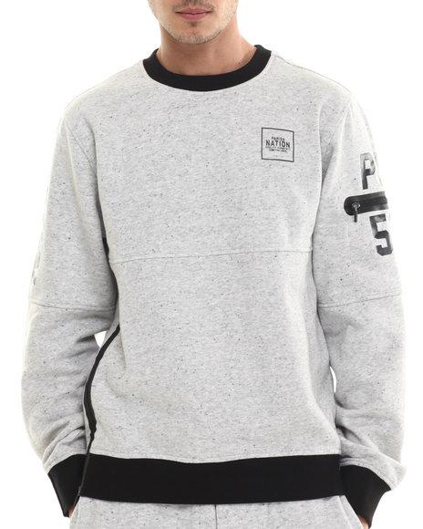 Ur-ID 214455 Parish - Men Black,Grey Sweatshirt W/ Zippers