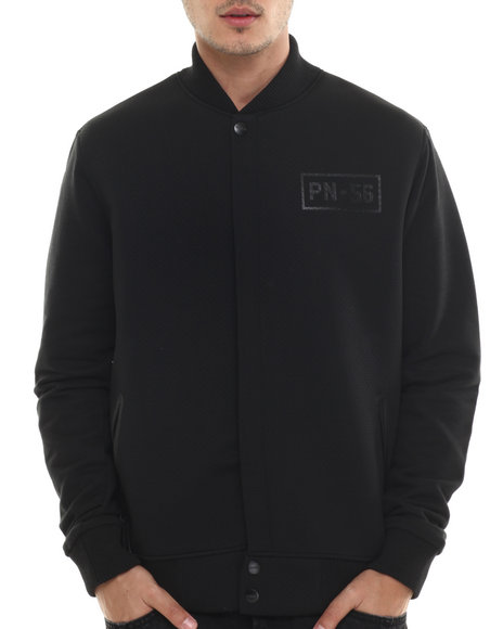 Ur-ID 214482 Parish - Men Black Neoprene Jacket