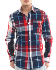 Parish - L/S Plaid Button-Down