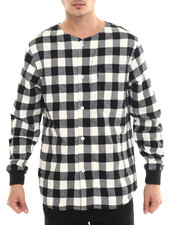 Men - Overthrown L/S Button-Down
