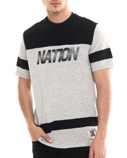 Men - T-Shirt w/ Zippers