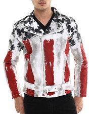 Outerwear - Old Glory Motorcycle Jacket