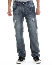 Jeans - Bleach Wash Denim