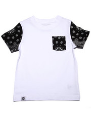 Boys - BANDANA POCKET TEE (2T-4T)