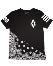 Sizes 8-20 - Big Kids - CUT & SEW BANDANDA TEE (8-20)