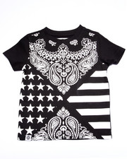 Akademiks - BANDANA ALL OVER PRINT TEE (2T-4T)