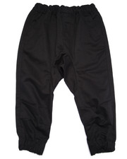 Bottoms - TWILL JOGGERS (2T-4T)