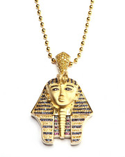 Accessories - Gold Multi-Colored CZ Pharaoh Chain