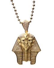 Men - Gold CZ Pharaoh Chain
