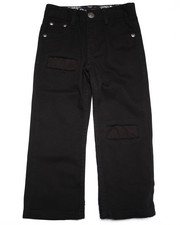 Bottoms - RIP AND REPAIR JEANS W/ BANDANA POCKET (4-7)