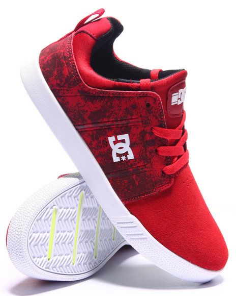 Ur-ID 214443 DC Shoes - Men Red Rd Jag - Dyrdek Red