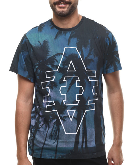 Akademiks - Men Blue Java S/S Tee