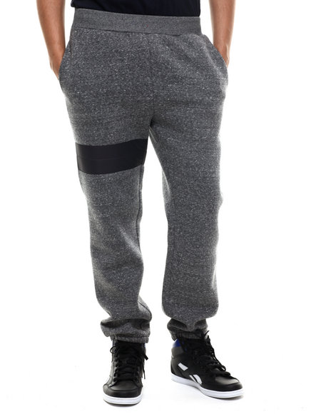 Crooks & Castles - Men Grey,Charcoal Waverun Sweatpant