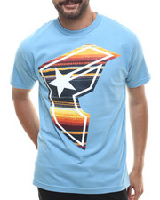 Men - Serape BOH  Blue Tee