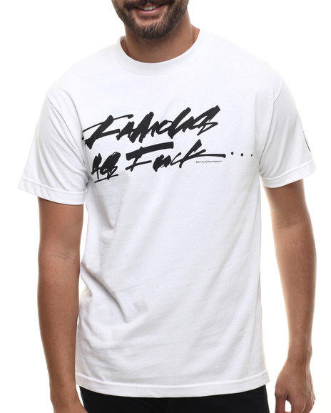 Famous Stars & Straps - Men White Slick Faf S/S Tee - $24.00