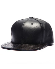 Men - Pradagy Genuine Crocodile Strapback Hat