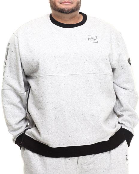 Ur-ID 214530 Parish - Men Grey Sweatshirt W/ Zippers (B&T)