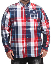 Parish - L/S Plaid Button-Down (B&T)