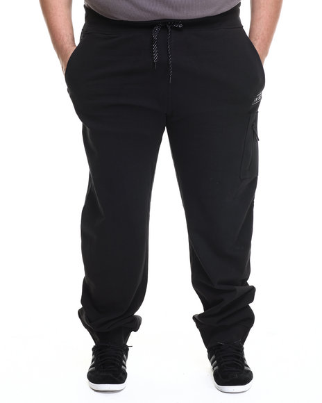 Parish - Men Black Neoprene Sweatpant (B&T)