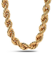 "Accessories - Gold Rope 25mm/20"" Chain"