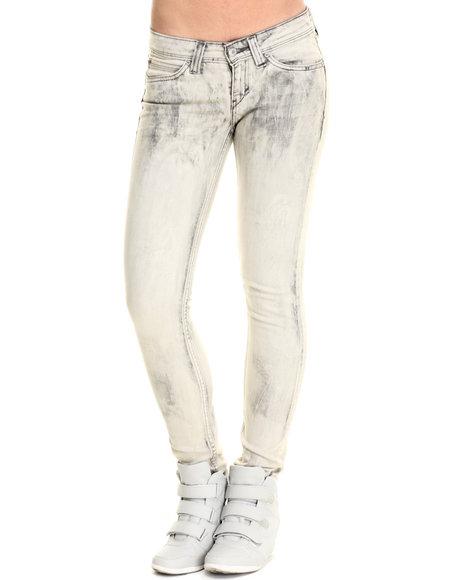 Ur-ID 214357 Levi's - Women Blue Low Rise Demi Curve Skinny Jean