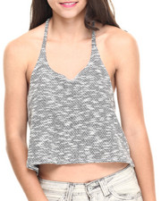 Women - Knit High-Low Tank Top