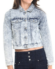 Outerwear - Acid Wash Denim Jacket