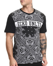 Men - Bandana Print T-Shirt