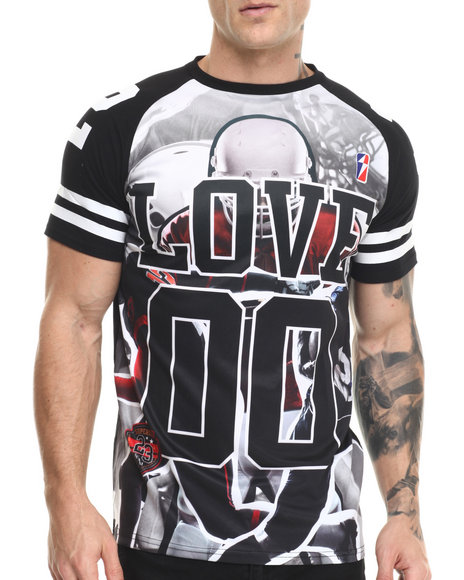 Buyers Picks - Men Black Athletics Photo S/S Tee
