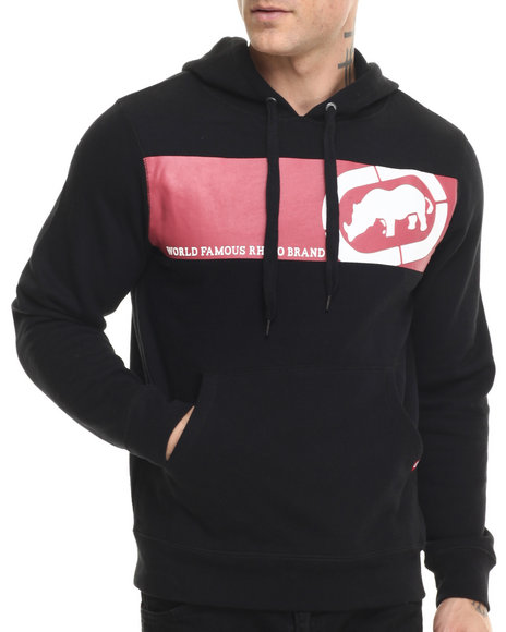 Ecko - Men Black Fleece Pullover - $22.99