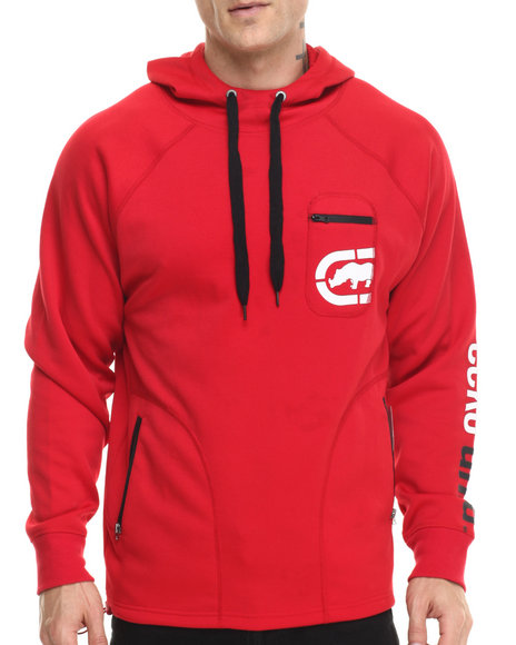 Ecko - Men Red Fleece Pullover