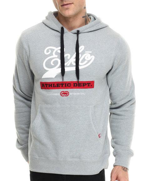 Ecko - Men Grey Fleece Pullover W Pocket