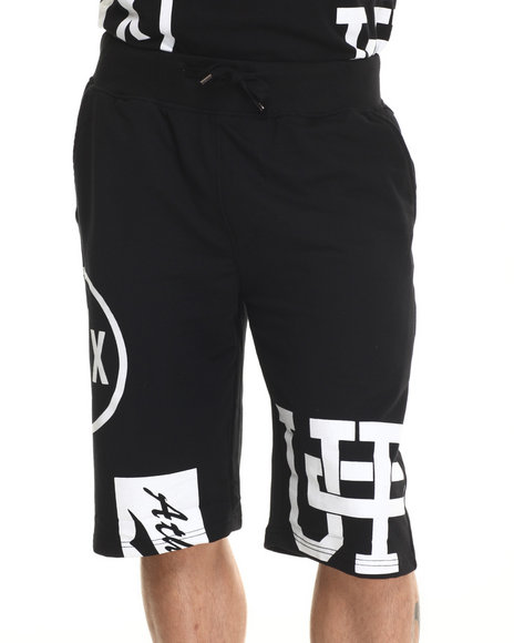 Buyers Picks - Men Black Athletics Ii Drawstring Shorts