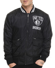 Outerwear - Brooklyn Nets NBA Play Caller Woven Jacket