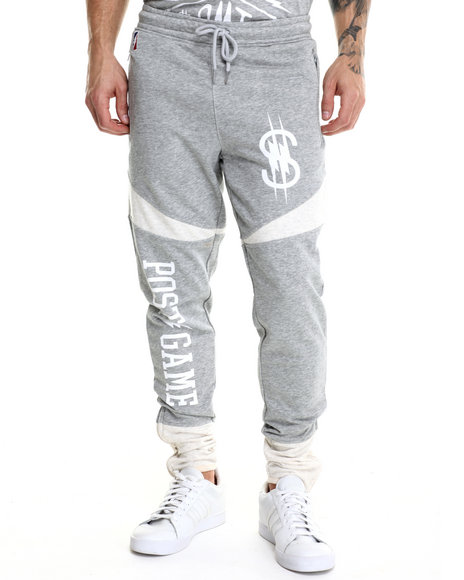 Ur-ID 214652 Post Game - Men Grey O M T Joggers