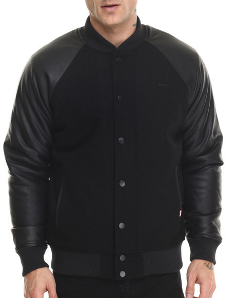 varsity jacket w applique