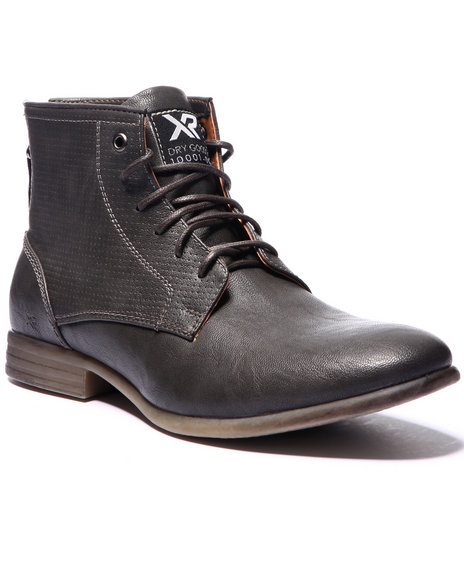 Buyers Picks - Men Grey X - Ray Bond Plain - Toe Boots