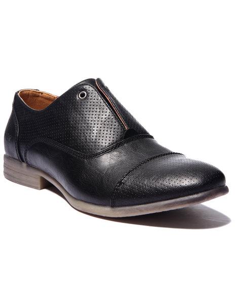 Ur-ID 214673 Buyers Picks - Men Black X - Ray Bleeker Cap - Toe Oxford Shoes
