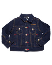 Denim Jackets - CLASSIC JEAN JACKET (2T-4T)