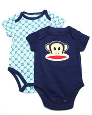 Boys - 2 PACK BODYSUITS (NEWBORN)