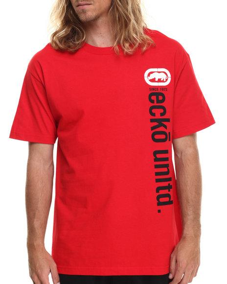 Ecko - Men Red Vertical Ecko T-Shirt