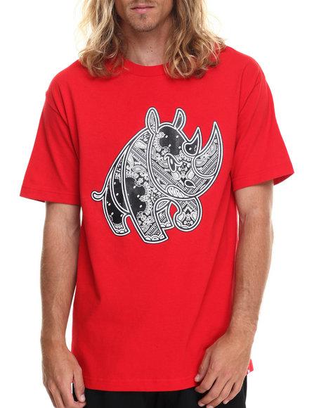 Ecko - Men Red Bandana Rhino T-Shirt